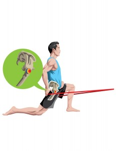 The Lunge Hip Flexor Stretch foto