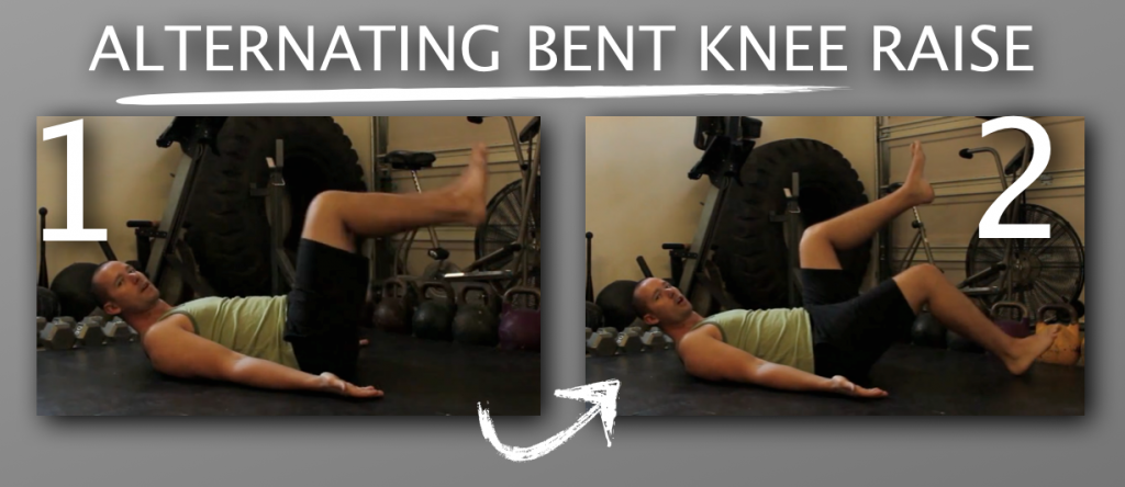 Ex1 Alternating Bent Knee Raise